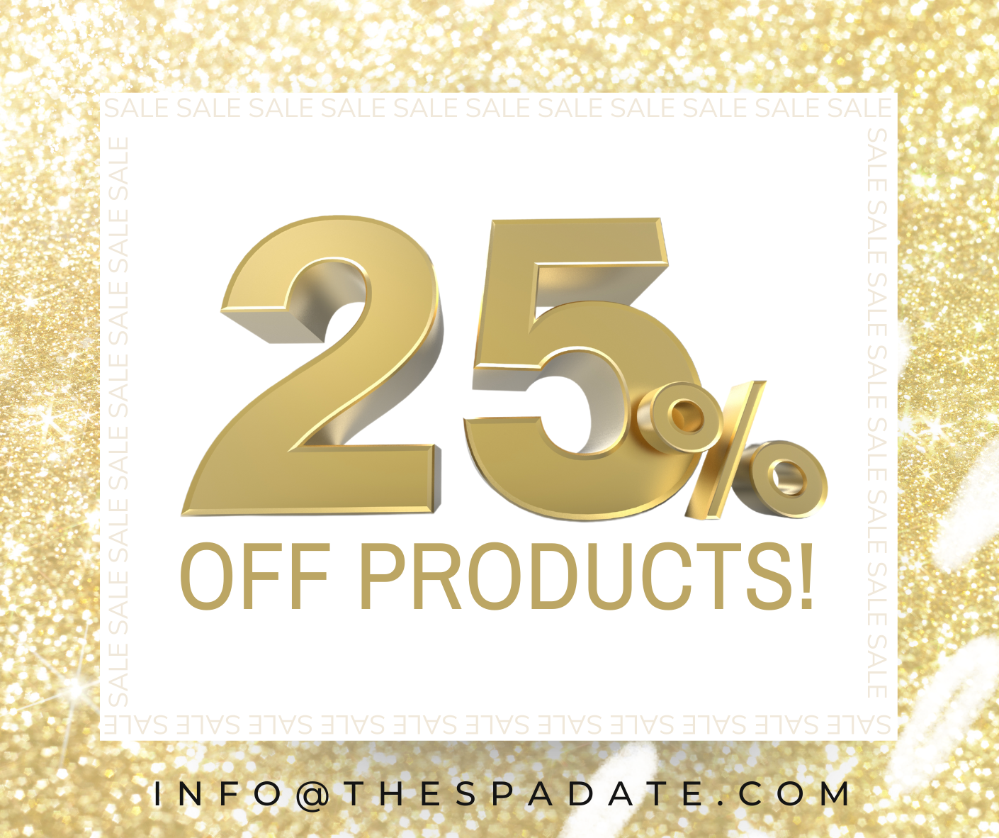 25% off products now until Dec.24th-6